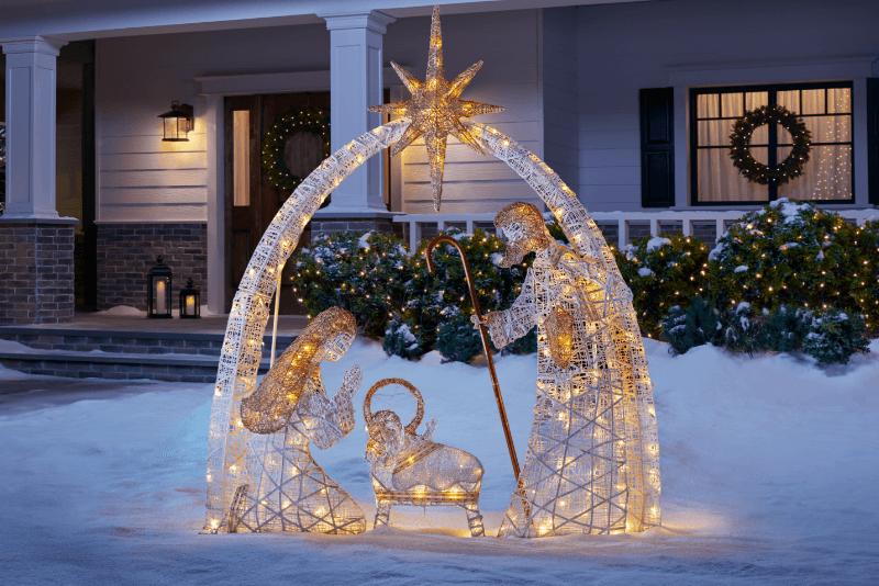 Réussir la décoration du jardin pour Noël